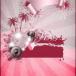 Foto Stock: Summer party background
