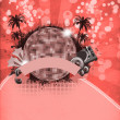 Summer party background — Foto de stock #36059687