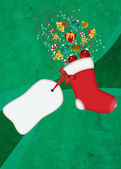 Christmas decoration background — Stockfoto