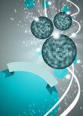 Mirrorball disko arka plan — Stok fotoğraf