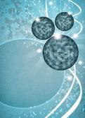 Mirrorball tło — Zdjęcie stockowe