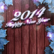 2014 happy new year background — Stockfoto