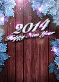 2014 happy new year background — Stock fotografie