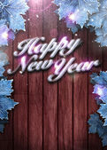 Happy new year background — Stock Photo