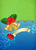 Christmas bells background — Stock Photo
