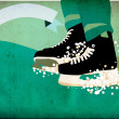 Ice hockey sport background — Stock Photo