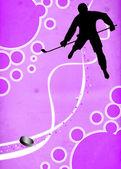 冰上曲棍球运动背景 — Stock fotografie