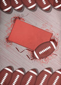 American football background — Stock Photo