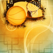 Basketball background — Stock Photo #39079227