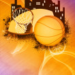 Basketball background — Stock Photo #39079231