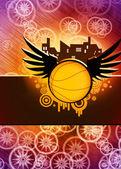 Basketball background — Stock Photo