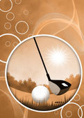 Golf background — Stock Photo