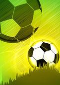 Fond de soccer ou de football — Photo