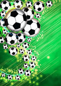 Soccer or football background — Stock Photo