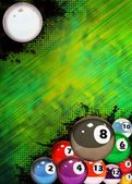 Billiard background — Photo