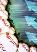 Baseball background — Stock Photo