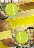 Tennis bakgrund — Stockfoto