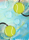 Tennis background — Stock Photo