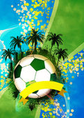 Football or soccer background — Stock Photo