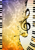 Music background — Stock Photo