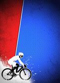 サイクリングの背景 — ストック写真