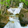 Stock Photo: Waterfall flow