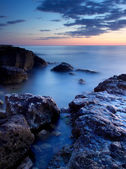 Seascape brilhante — Foto Stock