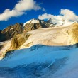 High mountain at the winter time. — Stock Photo