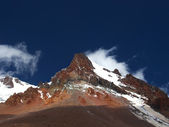 Pico de la montaña — Foto de Stock