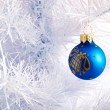 Christmas tree and decoration. — Stock Photo