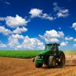 Tractor on field — Stock Photo #39686137