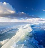 Paesaggio di ghiaccio — Foto Stock