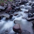 Fast river among dark stones. — Stock Photo #41269785