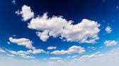 Nuvens e céu — Foto Stock