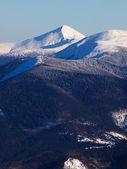 Snowy hills — Stock Photo