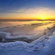 Sunset in the ice land — Stock Photo #51371803