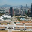 Shenzhen city aerial view China, Shenzhen city aerial view — Stock Photo #19027207