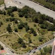 Park - aerial view — Stock Photo