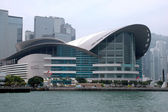 Hongkong exhibition center — 图库照片