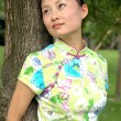 Chinese girl — Stock Photo