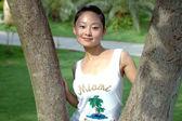 Chinese girl — Stock Photo