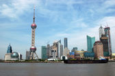 Shanghai city - general view — Stock Photo