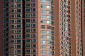 Residential skyscrapers in China — Stock Photo