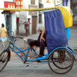 Stock Photo: Chinese rickshaw