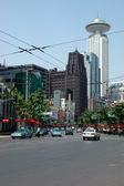 Shanghai - old and new — Stock Photo
