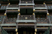 Traditional Chinese architecture closeup — Stock Photo