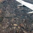 Chinese city - aerial view — Stock Photo