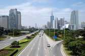 Shenzhen city - main avenue — Stock Photo