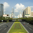 Shenzhen - city center — Stockfoto