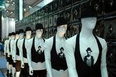 Fashion show - dummies in line — Stock Photo